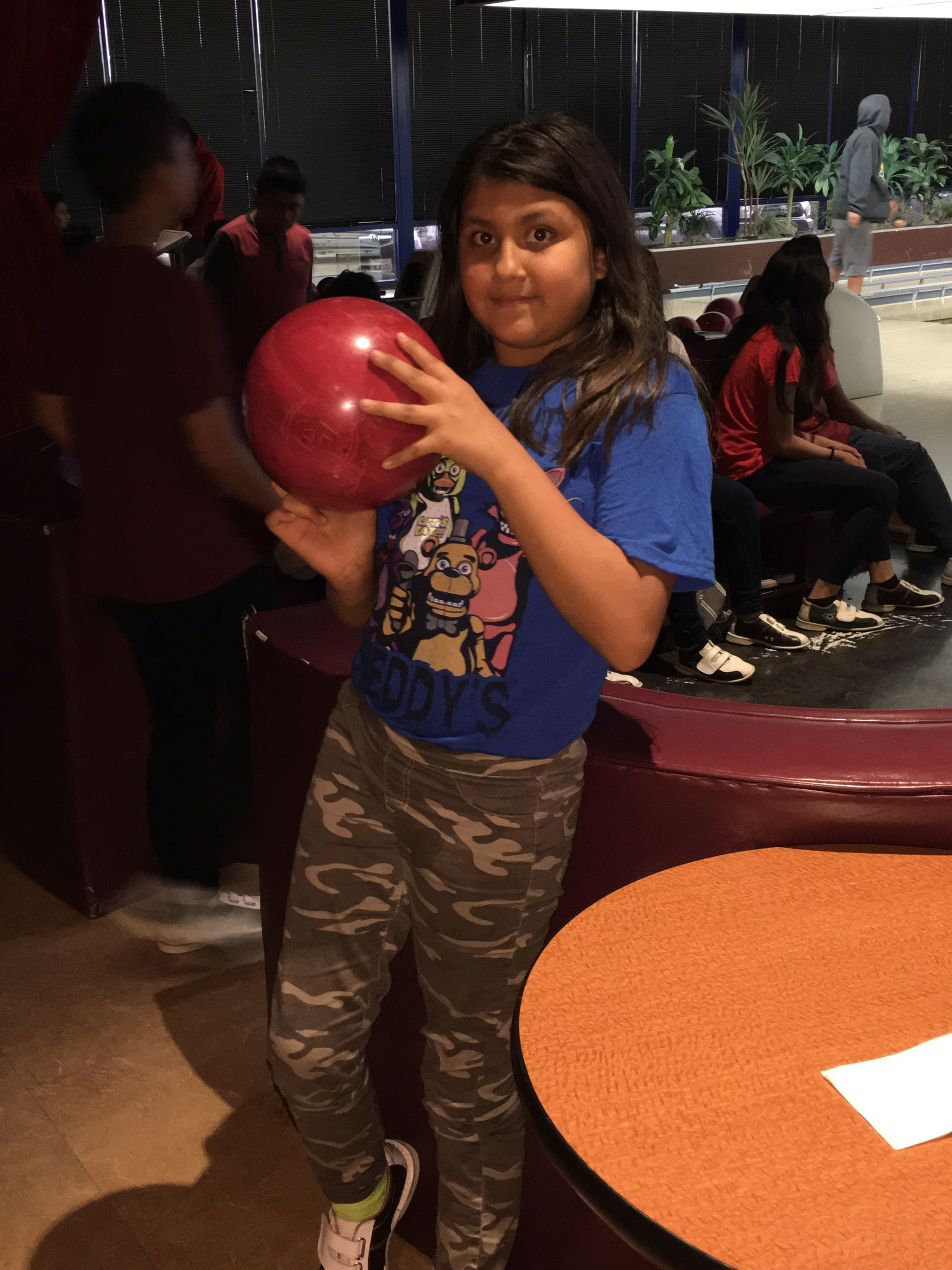 ASES at Nicole- Bowling Field Trip!