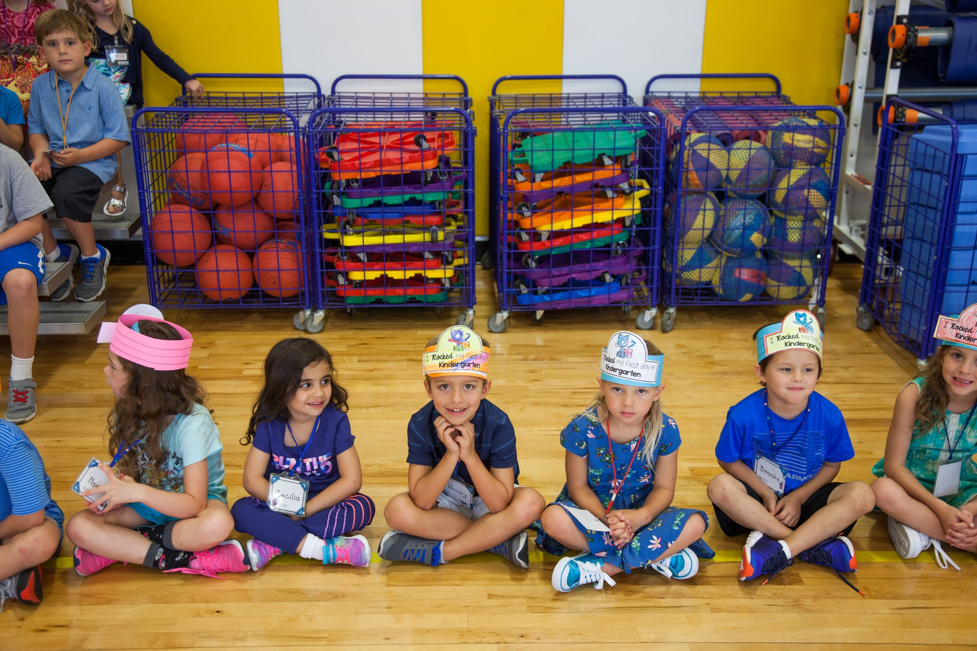 Hyer students learn about safety in P.E.