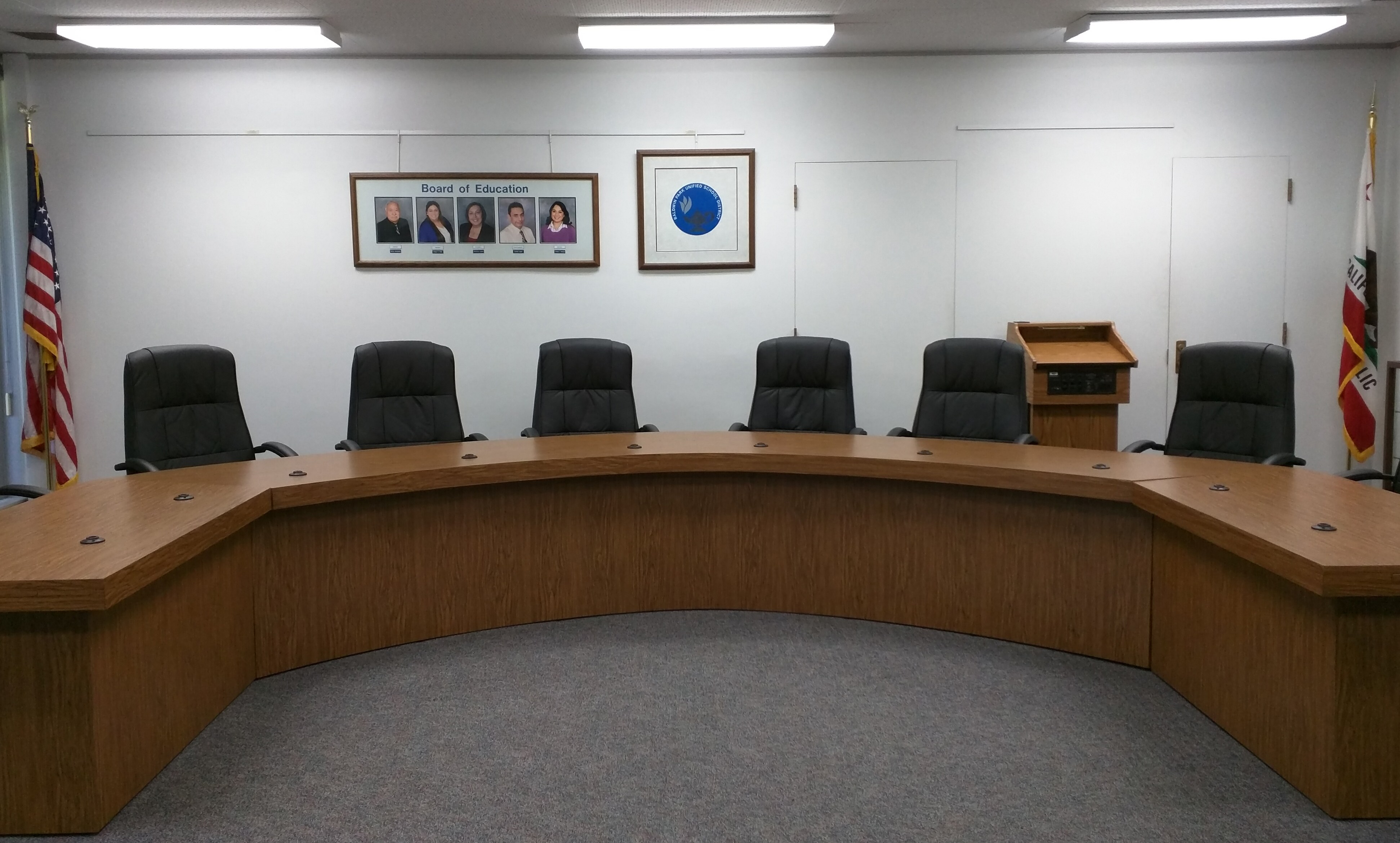 BPUSD Board Room