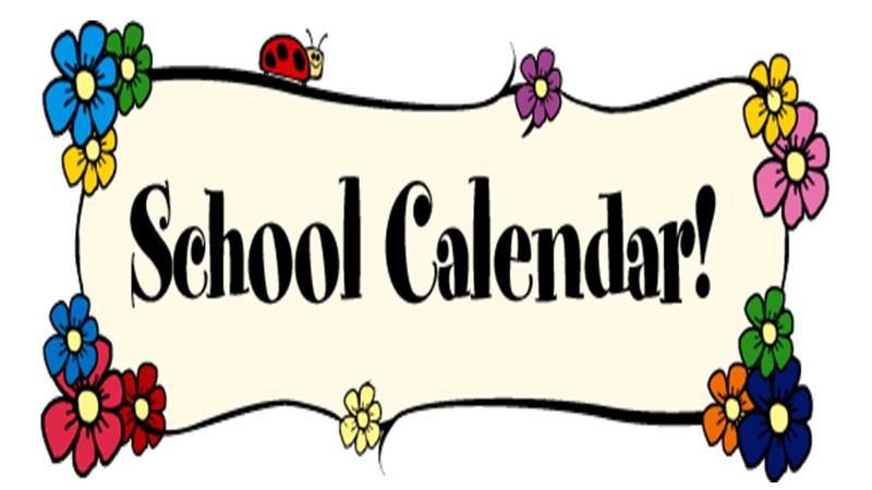 School Calendar for 17/18 School Year (REVISED) Thumbnail Image