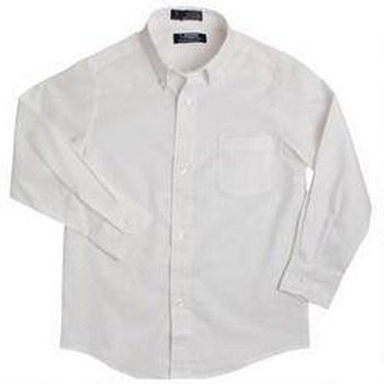 boy's white oxford shirt