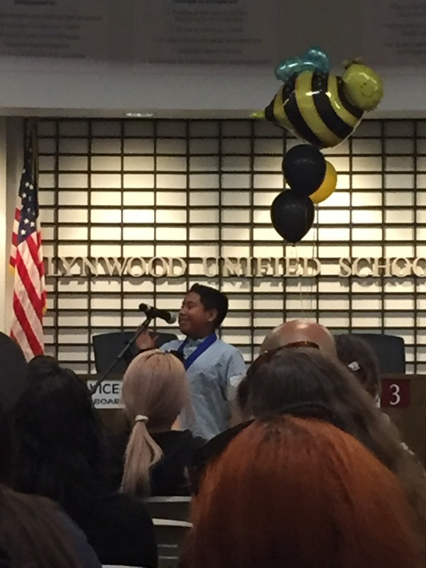 2nd Place Spelling Bee Winner: Aaron Lopez-Soto Featured Photo