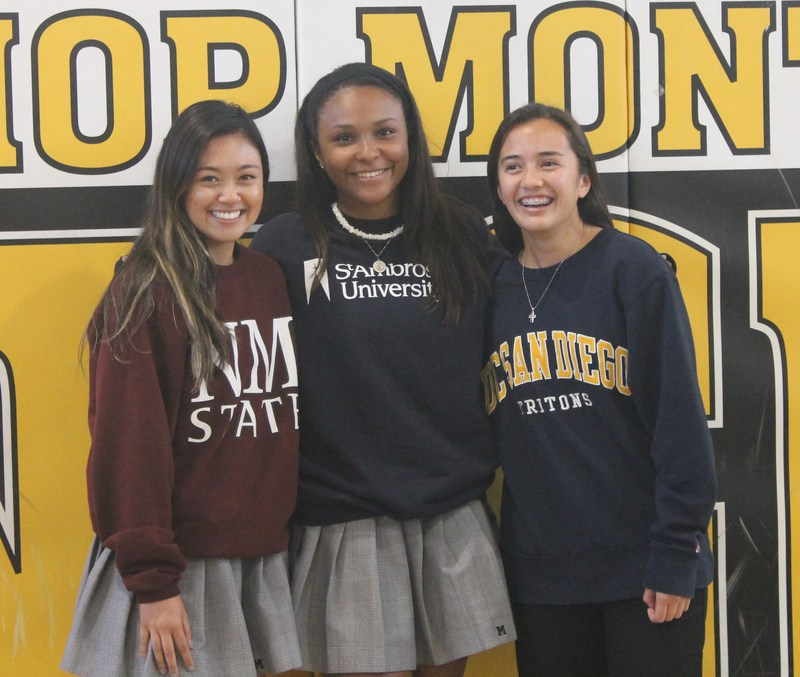 Three Athletes Make College Commitments Thumbnail Image