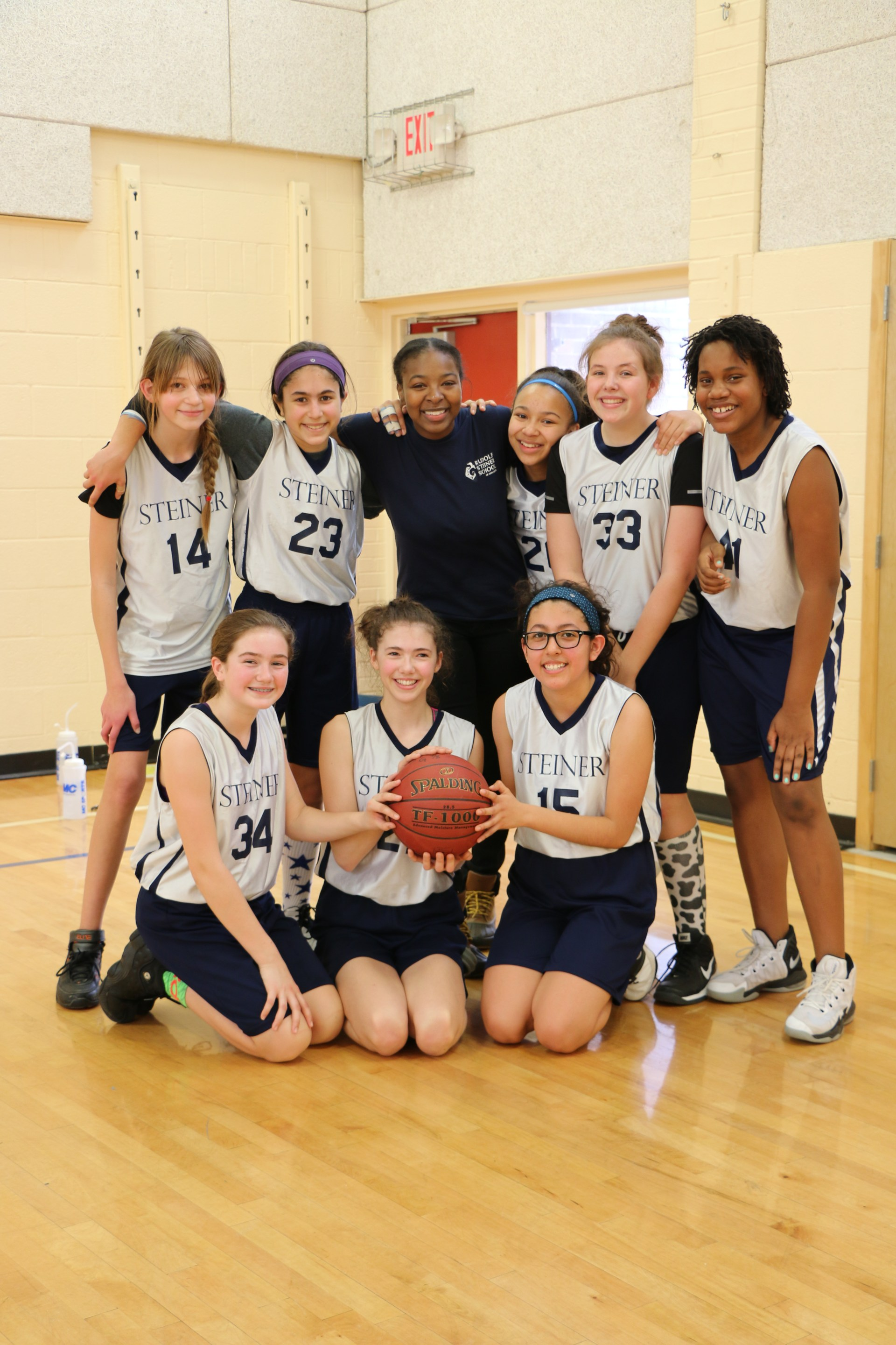 Lower School Girls Basketball Team