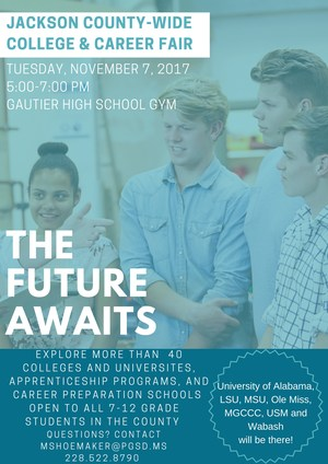 Jackson County-Wide College & Career Fair flyer