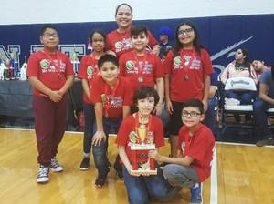 Escobar Rios Elementary Destination Imagination team.