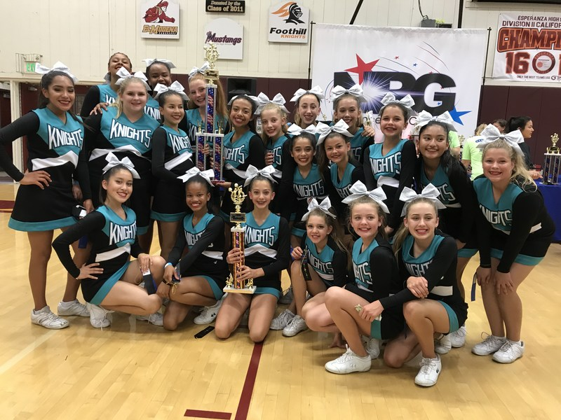 Dartmouth Cheer at NRG Anaheim Competition