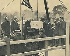 Laying of the Schermerhorn cornerstone