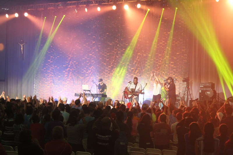 IHA Students Attend Life Teen Steubenville NYC Conference Thumbnail Image