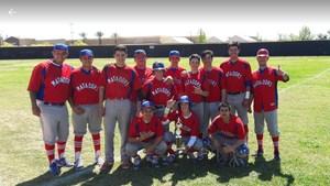 SGHS Baseball Team Photo