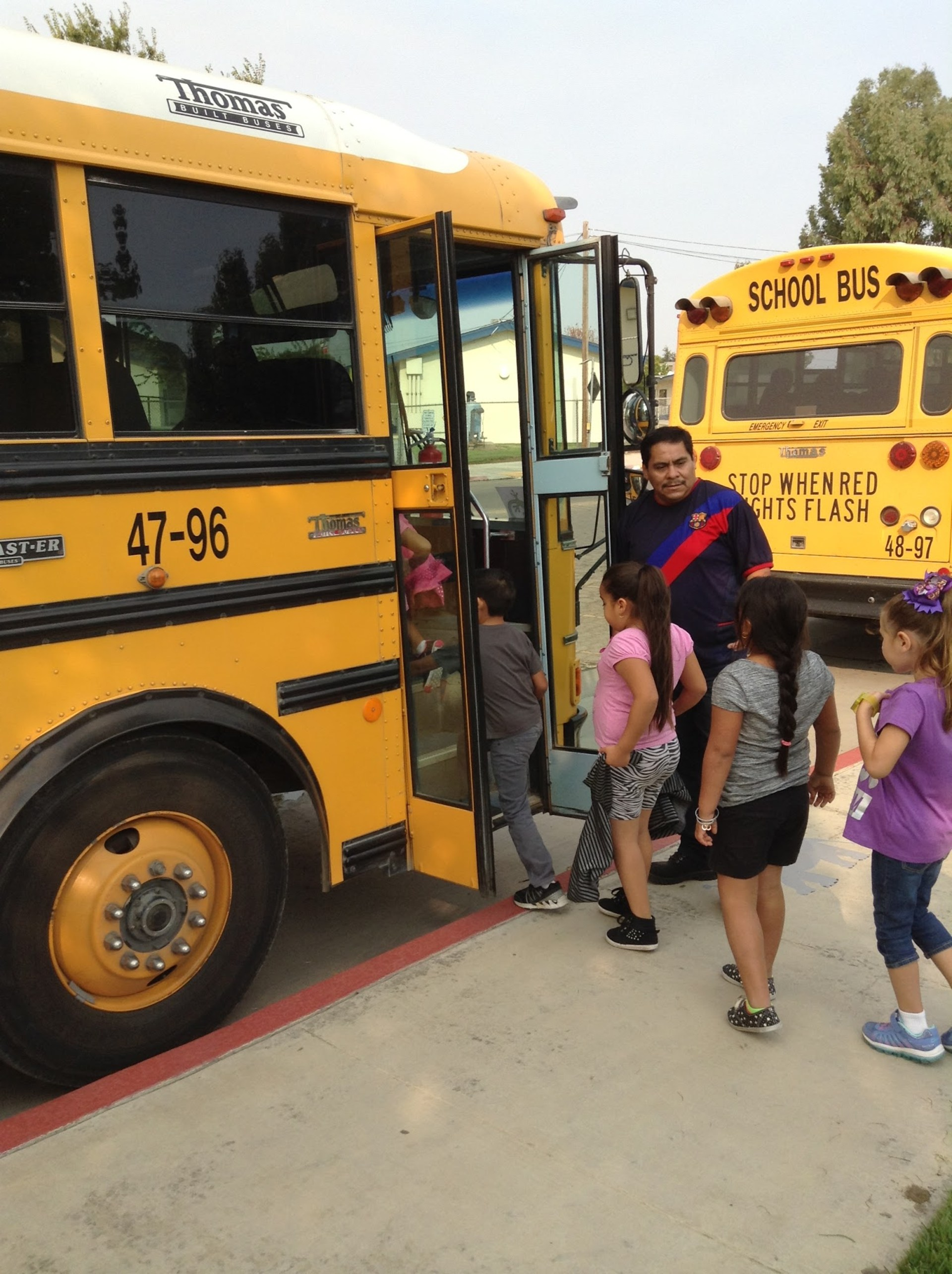 School Bus Evacuation Drills