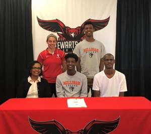 Robell Habte signs to play soccer at Milligan College!