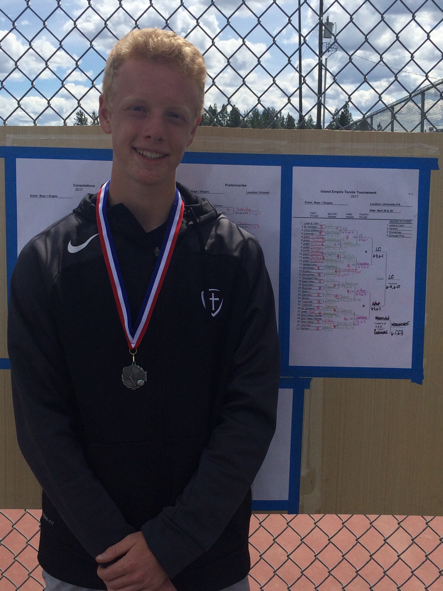 2017 IE 1st Singles-2nd Place