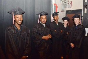 Invictus High School graduation spring 2017