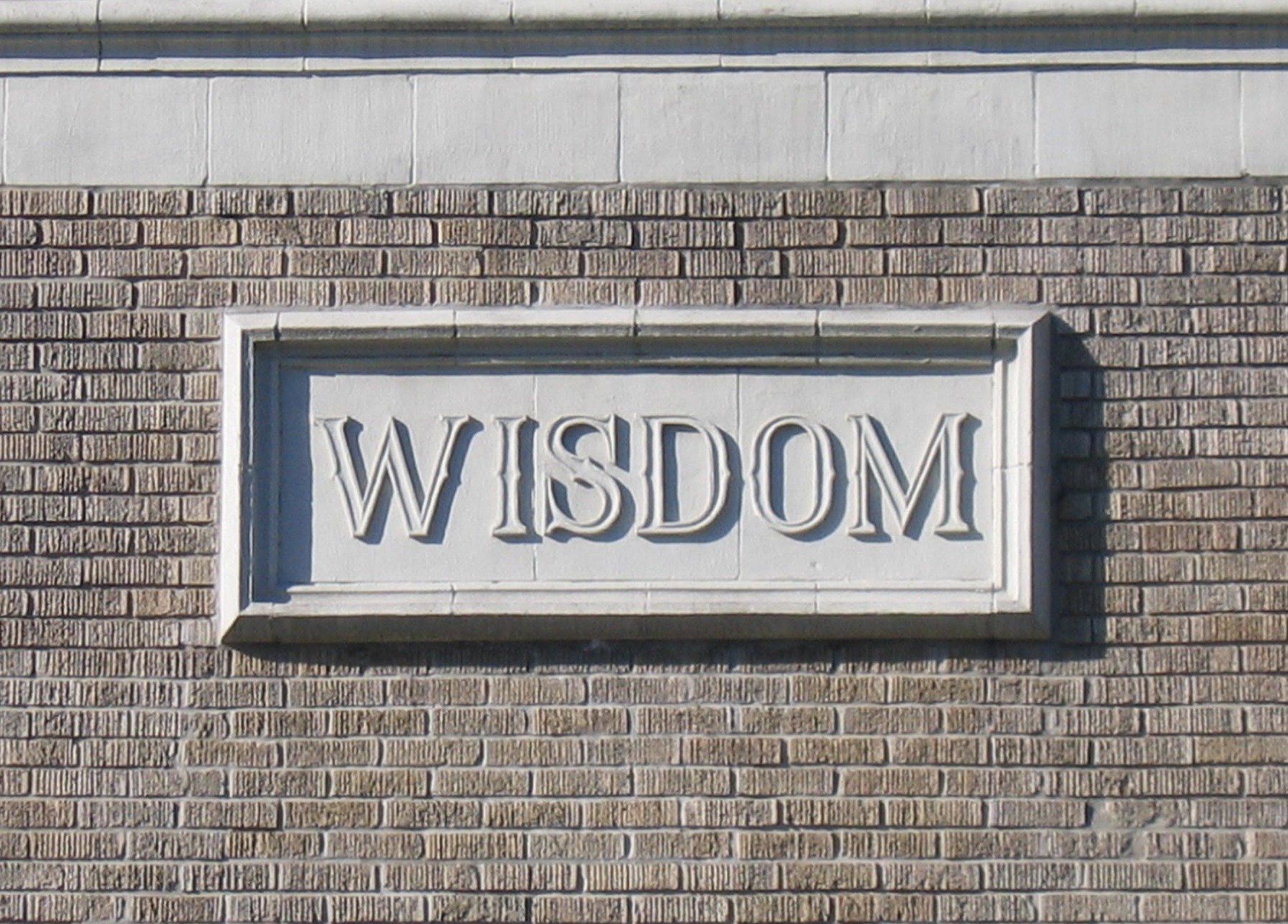 wisdom block