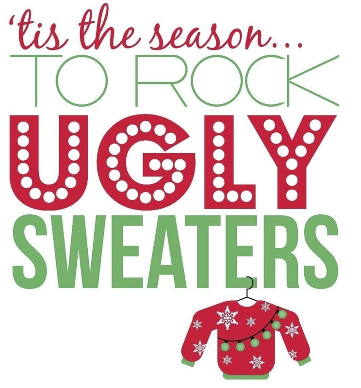 'tis the season for the ugly sweater day