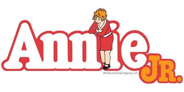 Logo for Annie Jr.