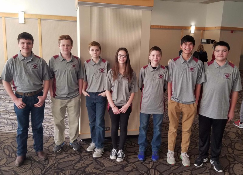 Congratulations to our 7th & 8th Grade MATHCOUNTS Team!!! Thumbnail Image