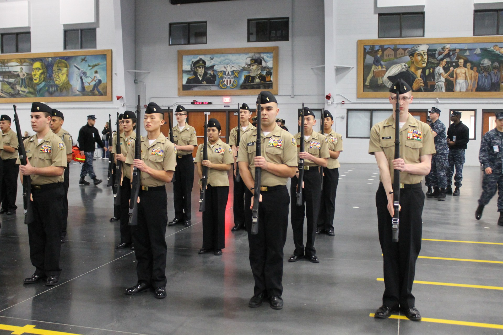exhibition drill team