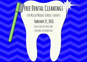 Free Dental Cleanings Poster
