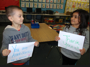 TK students participate in kindness photo contest