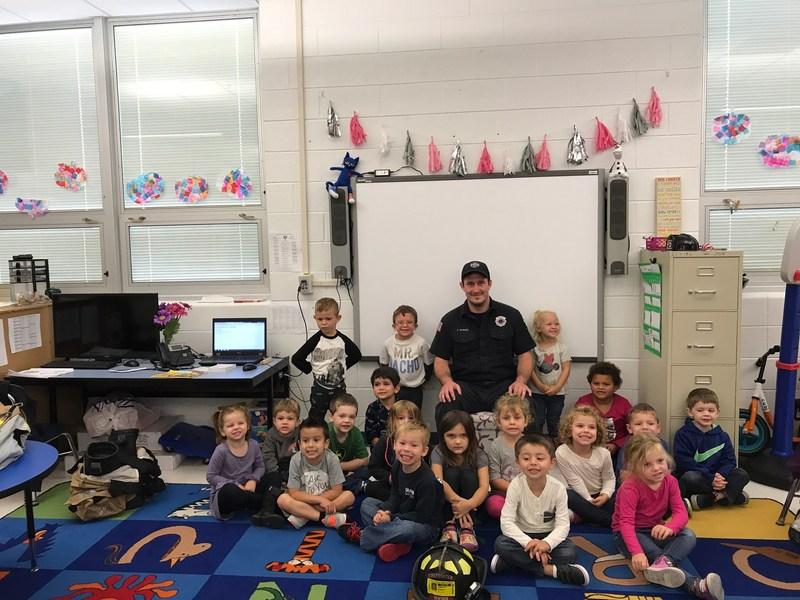 Firefighter Preschool Visit Thumbnail Image