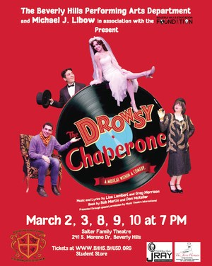 The Drowsy Chaperone Flyer