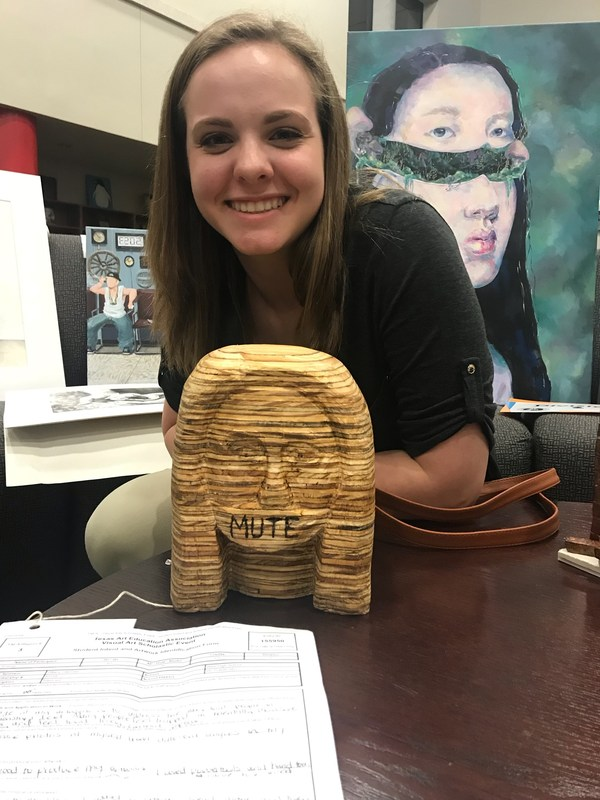 VWHS Art Students Awarded 61 Medals at Region Competition, 4 Advance to State Thumbnail Image