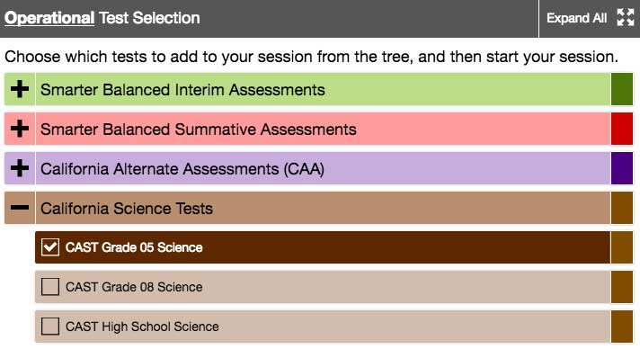 graphic regarding Caaspp Practice Tests Printable named California Science Try out (Forged) - Miscellaneous - Los Gatos