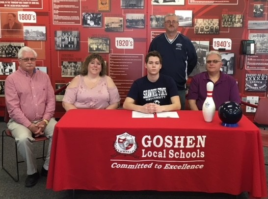Mike Hoff signs with Shawnee State