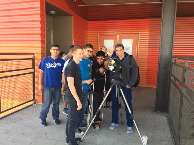 Novemberr Unit: Around the Solar System ( Students experience the using telescope to look at distant places)