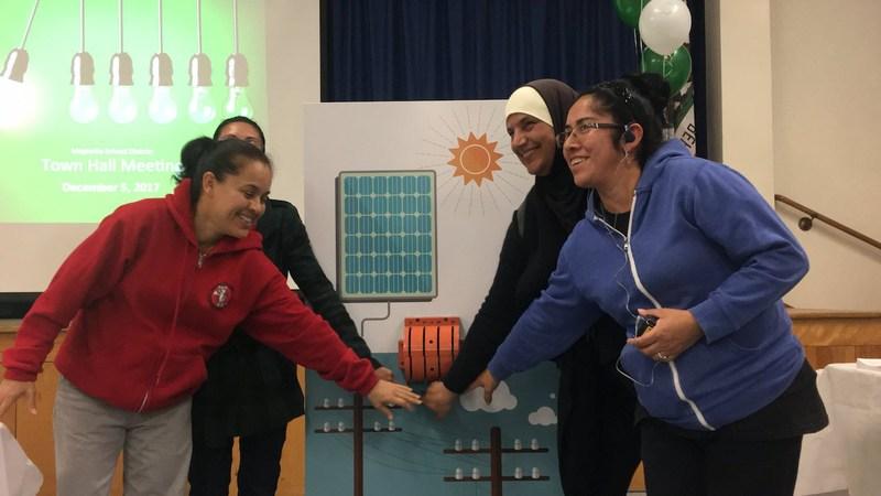 Magnolia Parents turn on solar energy switch