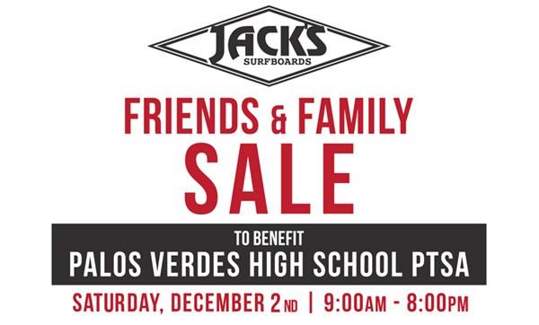 Jack's Surfboards Friends & Family Sale | Dec 2nd Thumbnail Image