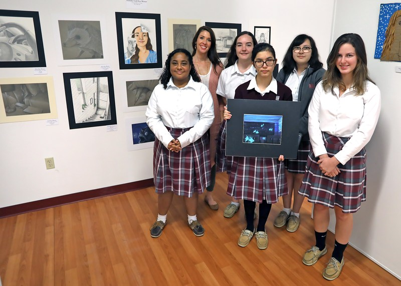 Northeast Florida Art Education Association recognizes five BK students Thumbnail Image