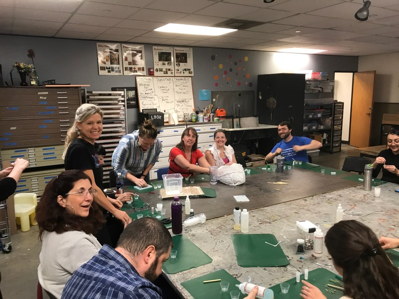 Metro staff workshop Betsy Rosenmiller