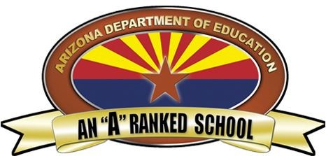 A Rated School logo