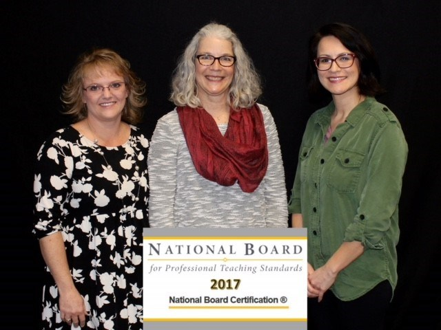 NEW AND RENEWING NATIONAL BOARD CERTIFIED TEACHERS HONORED Thumbnail Image