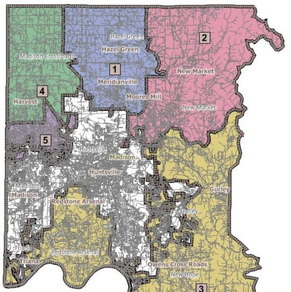 Madison Al Zip Code Map.District Maps Board Madison County Schools