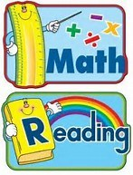MATH AND READING POSTERS