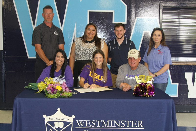 WCA Senior Alexis Devillier signs to play soccer with LSUE Thumbnail Image