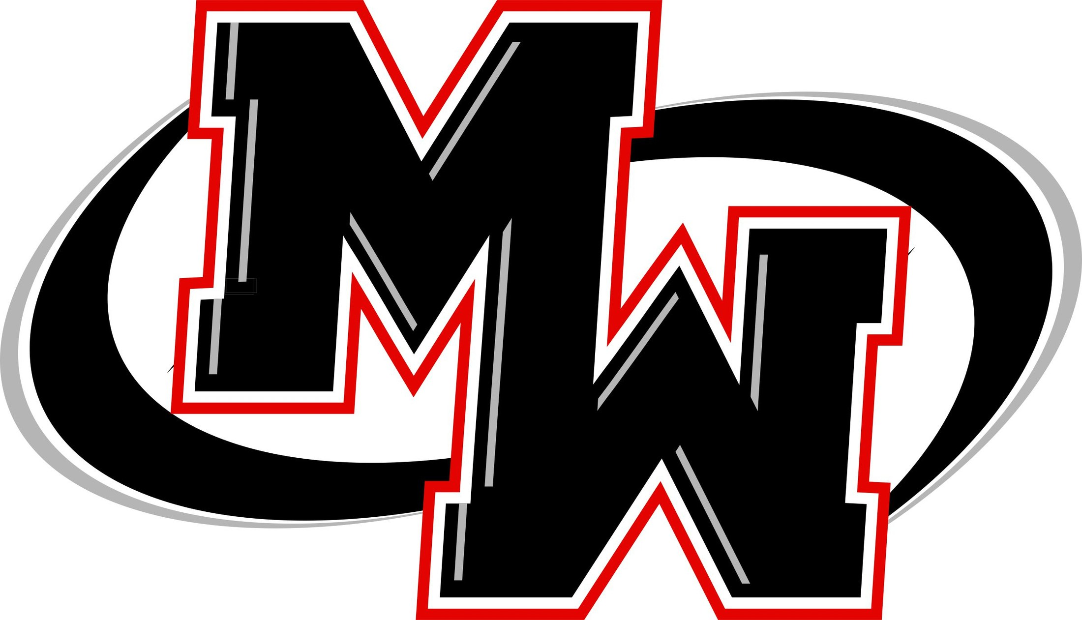MW logo with swoop