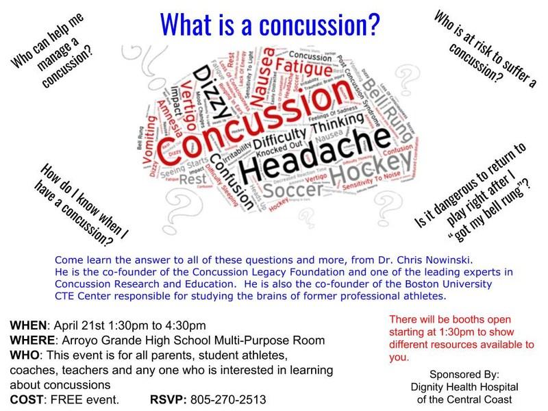 Concussion Flyer