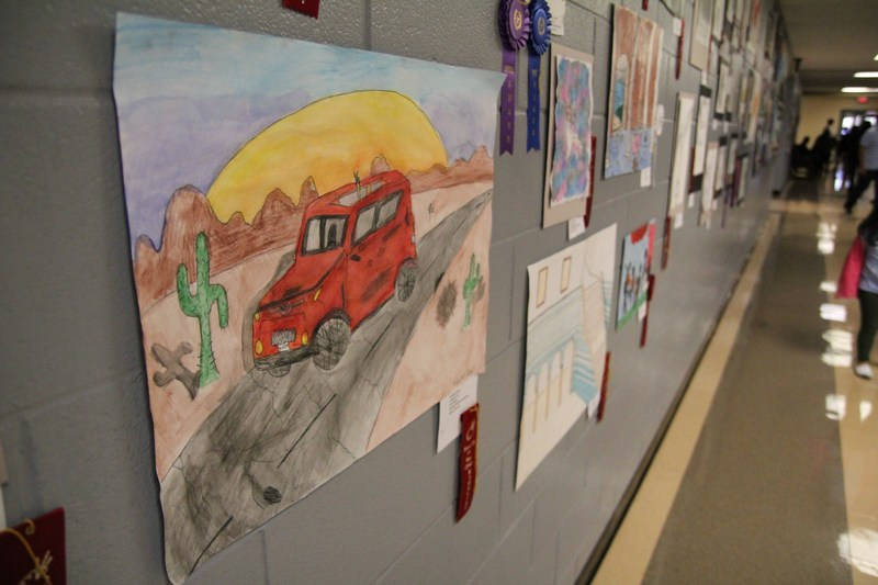 District Art Show to Display Some of the Best Student Works Thumbnail Image