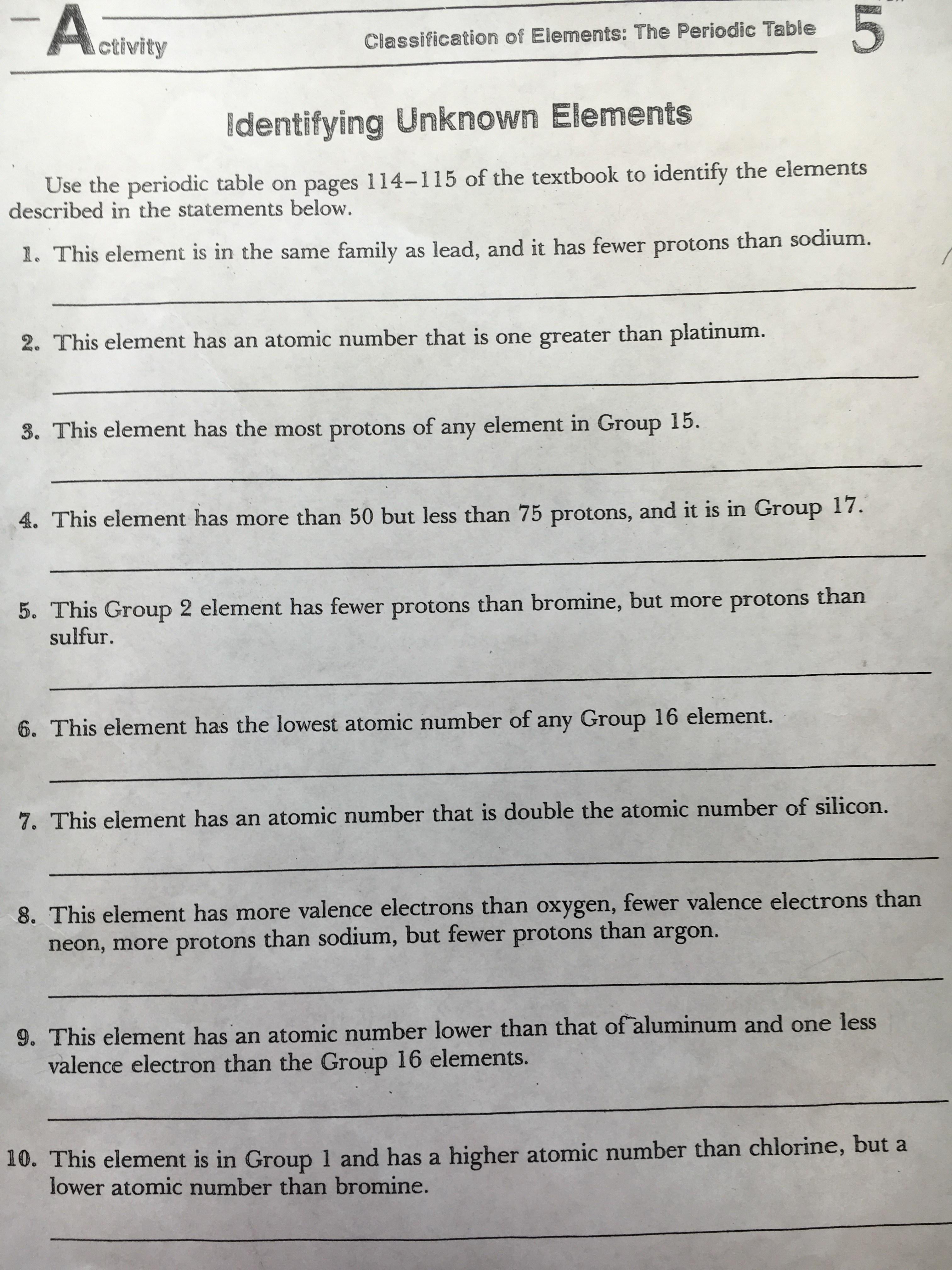 El sereno middle school ws interpreting the periodic table gamestrikefo Image collections