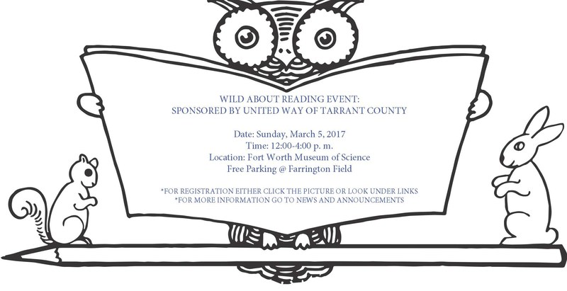 Wild About Reading Event