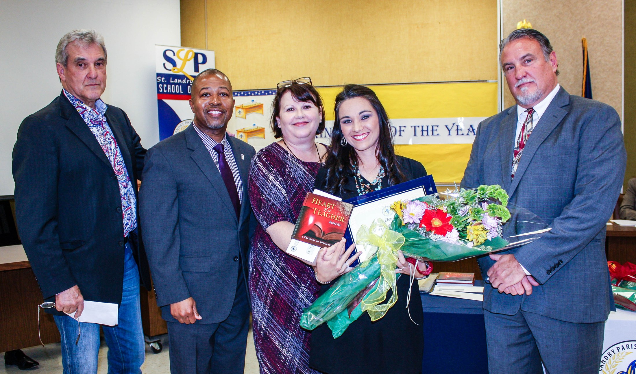 Elementary Teacher of the Year Breanna Prudhomme