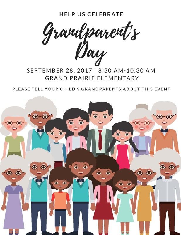 grandparent's day flyer
