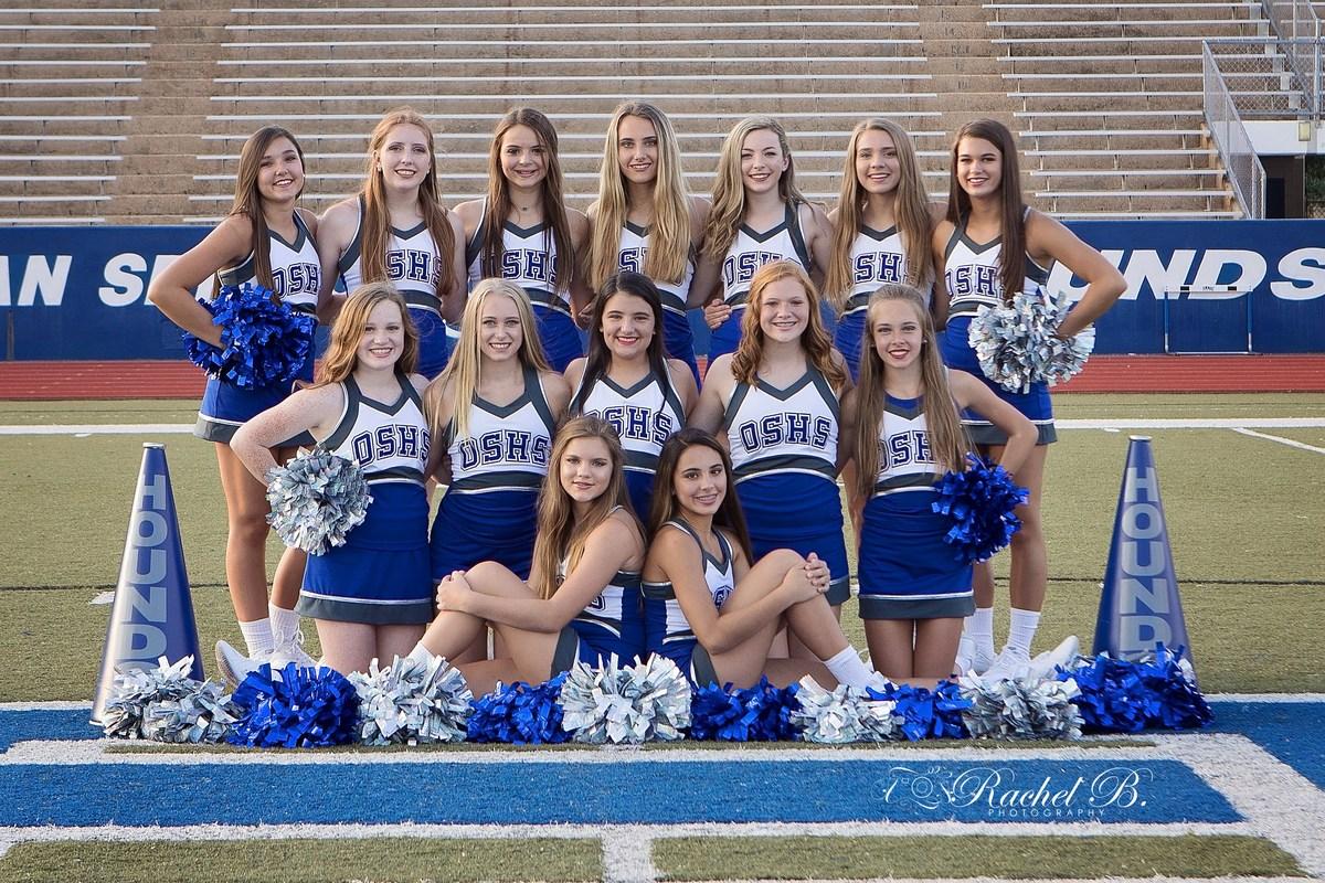 Blonde middle school cheerleader #14