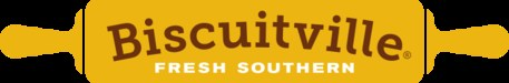 A picture of the Biscuitville rolling pin logo.