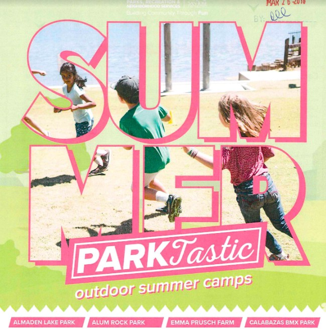 San Jose Rec Outdoor Summer Camps Logo